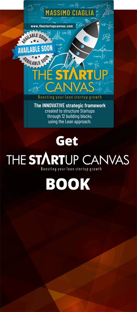 Prenota la tua copia di The Startup Canvas